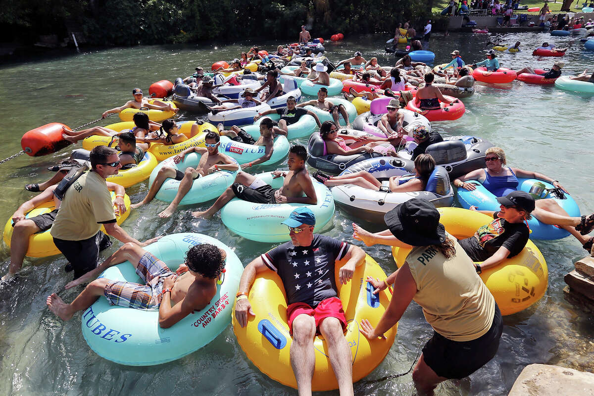 Take a tubing trip to float your cares away The Frio, Comal and Guadalupe rivers are all within an easy car ride from San Antonio. Click here for a guide to the best tubing spots in Texas.