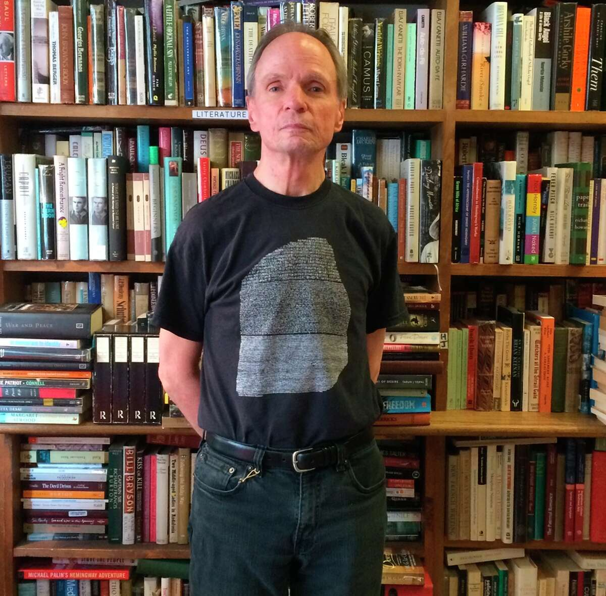 Jim Carroll, owner of San Francisco Book Co.