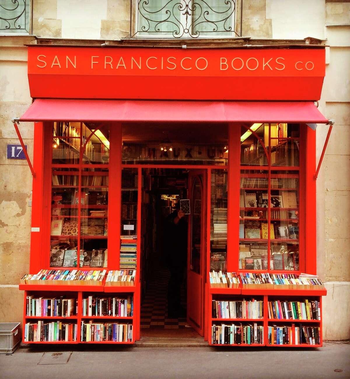 San Francisco Book Co., 17 rue Monsieur le Prince, Paris.