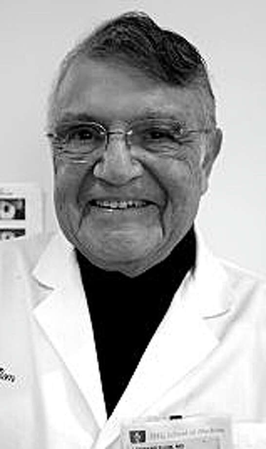 Dr. Leonard Flom of Westport, medical researcher and innovator. Photo: Contributed Photo / Contributed Photo / Westport News