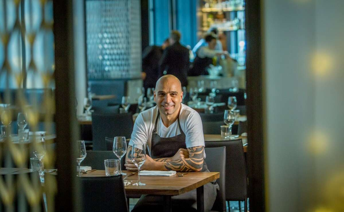 Chef Mourad Lahlou at Mourad.