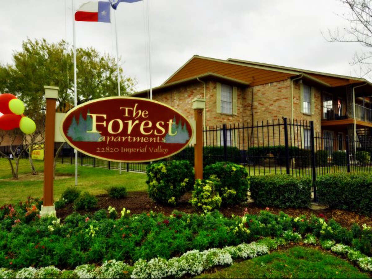 The Forest Apartments, 22820 Imperial Valley Drive, has 192 units.
