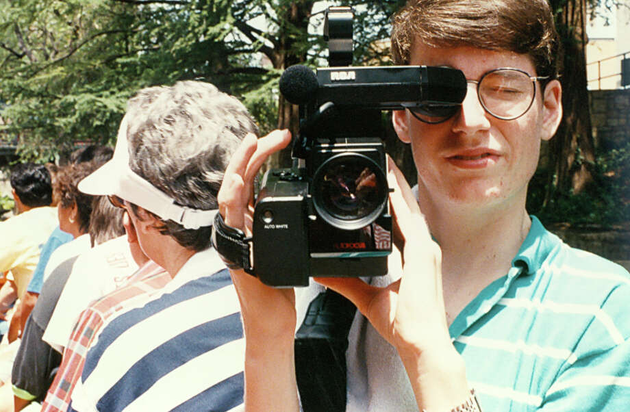 A Houston man, Josh Burdick, is working on digitizing some of his VHS tapes from the late '80s and early '90s, featuring footage of the Space City at work and at play. He's also uploaded a few dozen stills of Houston from 1988 to 1992. Photo: Josh Burdick