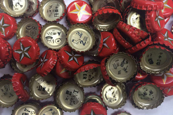 QUIZ: Lone Star Beer bottlecap puzzles Lone Star Beer has been putting rebus puzzles on the inside of its bottle caps since 2001 (Lone Star Light came on board in 2005). See if you can solve some of these highly popular puzzles ...