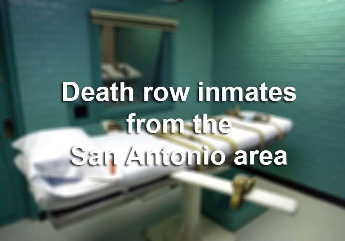 Texas leads the nation's death penalty states in executions. Scroll through the gallery for inmates who are currently on death row for convictions in the San Antonio area - and some who were recently executed.