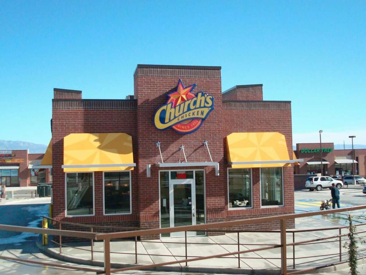 18. Church's Chicken Number of franchises: 1,396 Cost to open a franchise: $413,300-$1.3 million