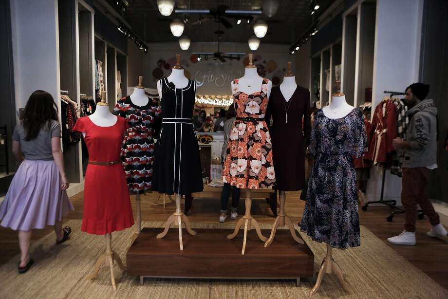 The ModCloth Fit Shop features the latest collection. Photo: Dorothy Edwards, The Chronicle