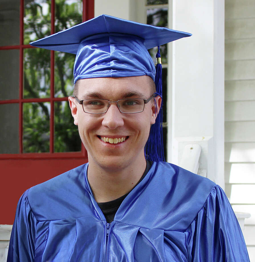 Bob Brown of New Canaan was among the 15 students who graduated July 10 from Vista Vocational and Life Skills Center, a non-profit education program for individuals with disabilities. Photo: Contributed / Contributed / Stamford Advocate