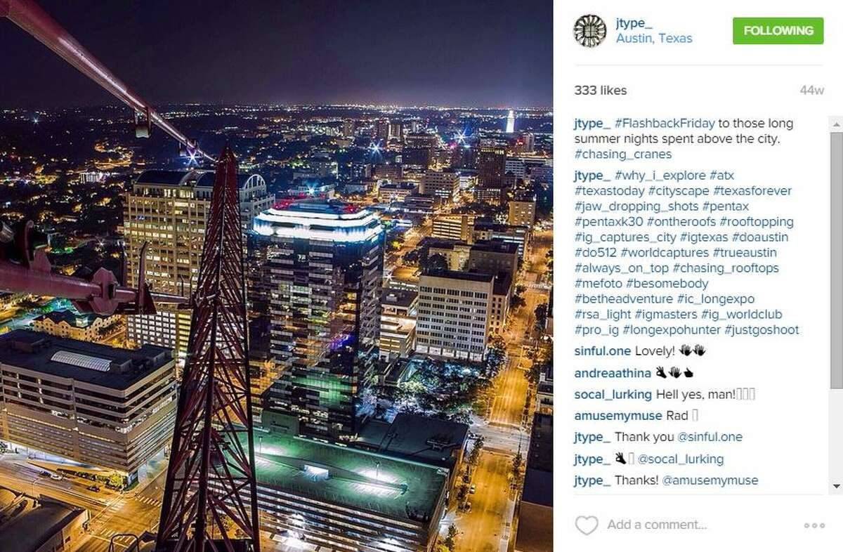 #FlashbackFriday to those long summer nights spent above the city #Chasing_Cranes