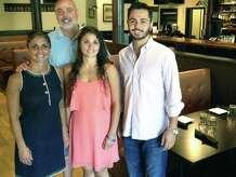 The Iron Rail is very much a family-run restaurant along Railroad Street in downtown New Milford. Mary Ann and Chuck Kapetanopoulos share the experience with their daughter, Georgia, and their son, Yiannis, who serves as manager.