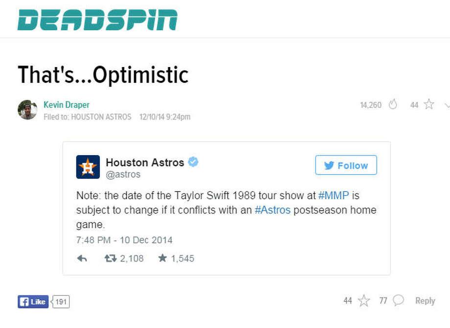 """That's... optimistic."" Photo: Screenshot"