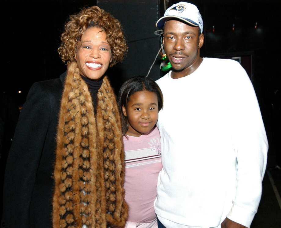Whitney Houston, daughter Kristina and Bobby Brown (Photo by Frank Mullen/WireImage) Photo: Frank Mullen, WireImage