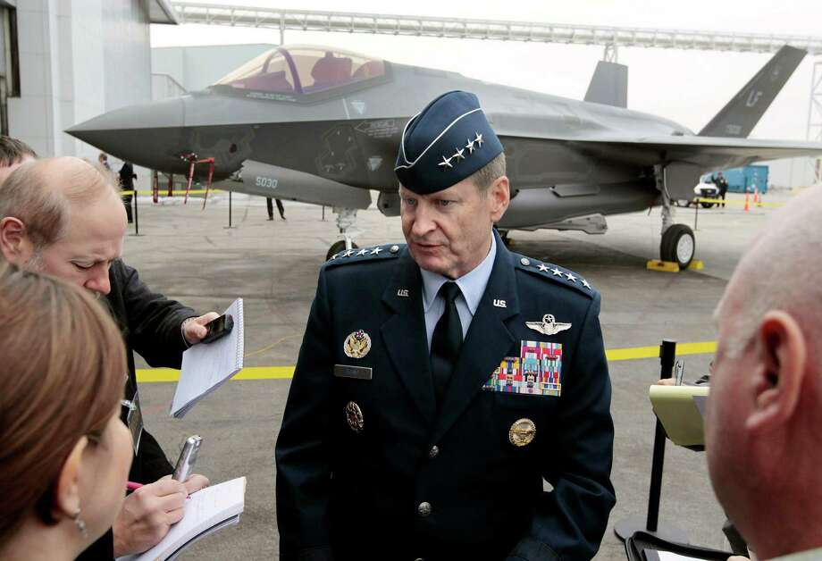 Gen. Robin Rand, a career fighter pilot, will take charge of the Air Force's nuclear force. He will be the program's first four-star command since the Cold War. Photo: Ron T. Ennis, MBI / The Fort Worth Star-Telegram