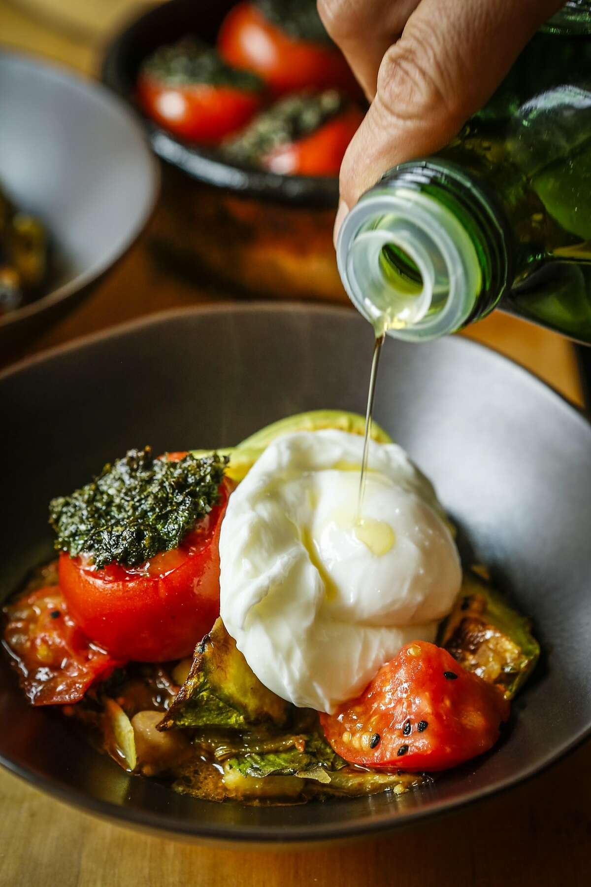 The Mediterranean diet features olive oil as the primary source of fat.