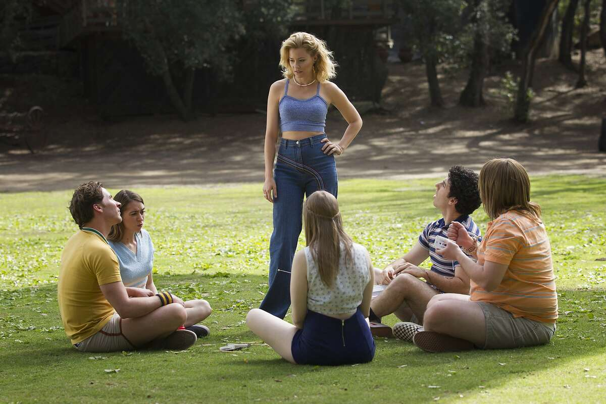 """Elizabeth Banks in the Netflix original series """"Wet Hot American Summer: First Day Of Camp"""". Photo by: Saeed Adyani/Netflix."""