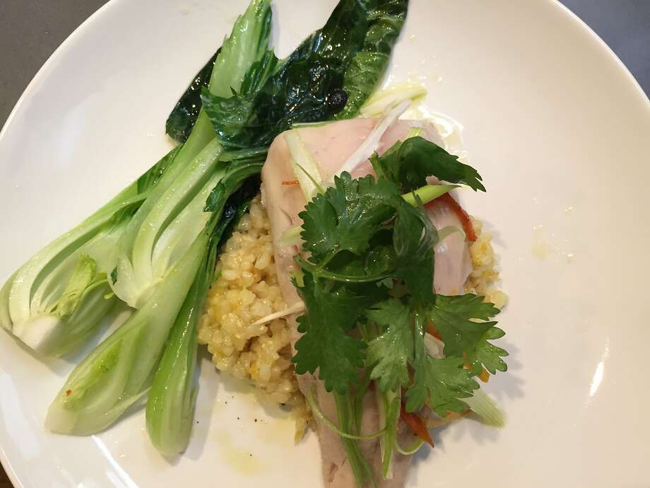 Steamed cod with bok choy from Din Photo: Amanda Gold