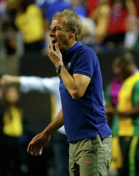 Coach Jürgen Klinsmann and the U.S. team took a step backward after a disappointing showing as hosts of the 2015 CONCACAF Gold Cup. Photo: Kevin C. Cox, Staff / 2015 Getty Images