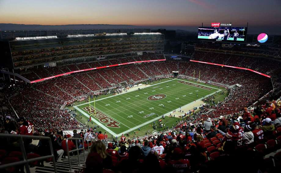 SANTA CLARA, CA - NOVEMBER 27:  The field is cleared before the start of the game between San Francisco 49ers against the Seattle Seahawks at Levi's Stadium on November 27, 2014 in Santa Clara, California.  (Photo by Don Feria/Getty Images) ORG XMIT: 507872519 Photo: Don Feria / 2014 Getty Images