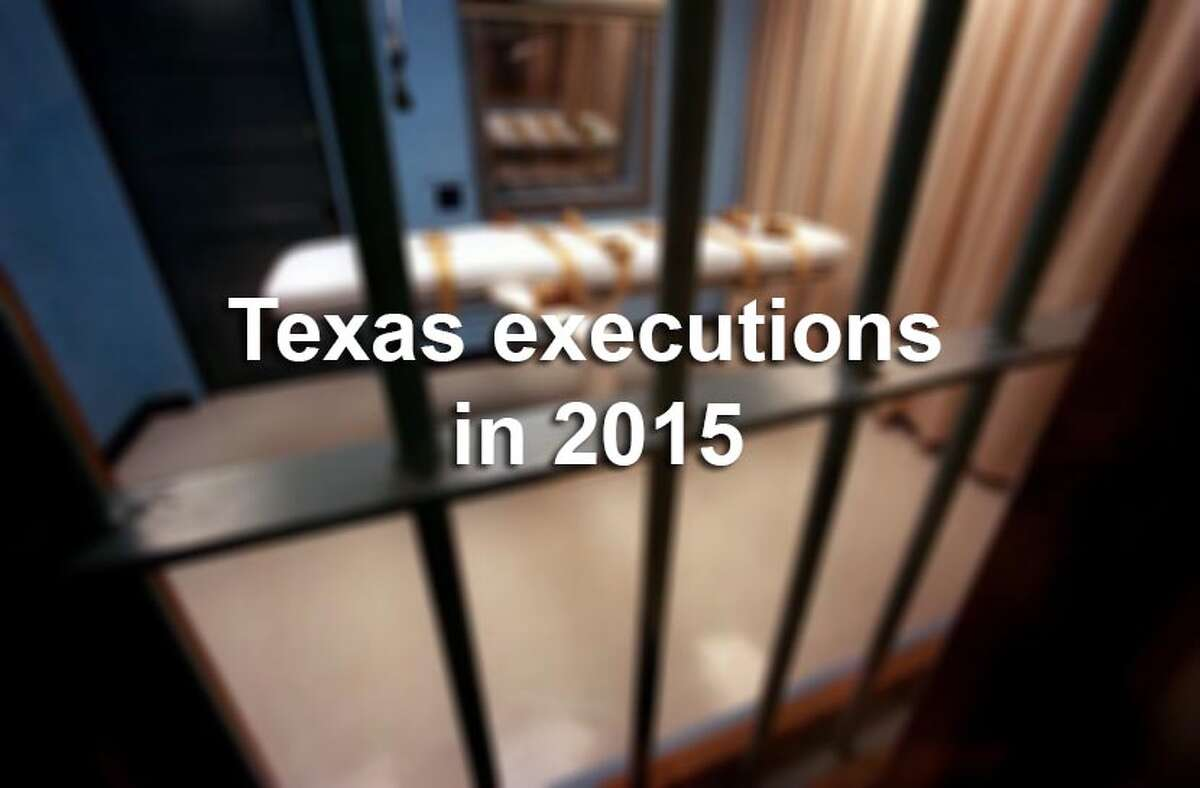 Scroll through the gallery to see Texas death row inmates who have been executed or are set to be executed in 2015.