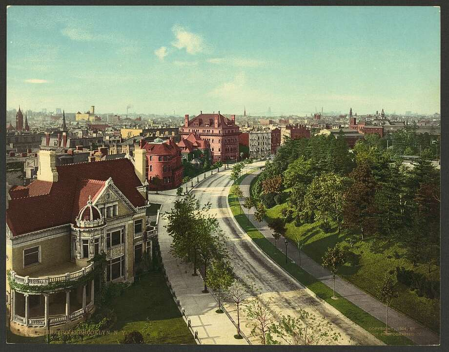 The Circle, Brooklyn, N.Y. Photo: Library Of Congress