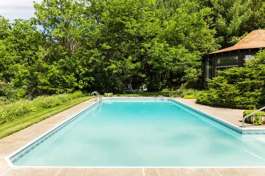 It may be hot, but these homes have some cool pools. Click through the slideshow to see what's currently for sale in the region. To find more homes on the market, visit our real estate section. $858,500. 64 Westview Rd., Voorheesville, NY 12186. View listing. Photo: CRMLS