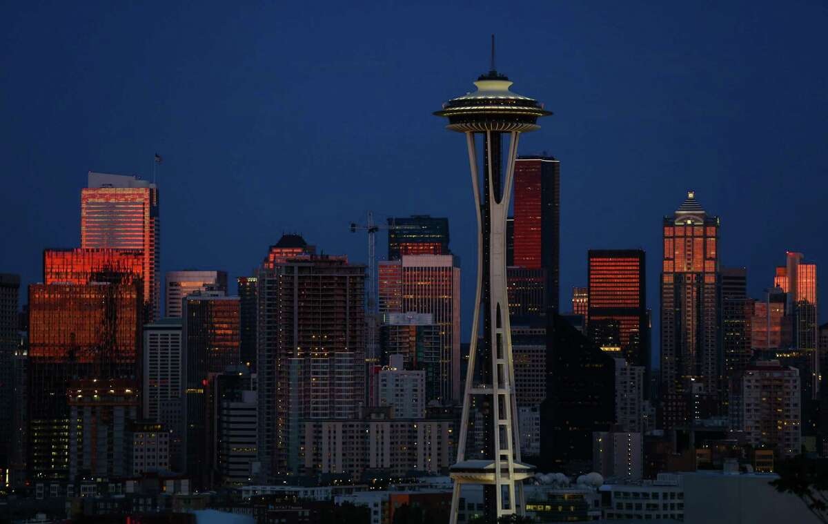 Seattle, Washington: Most Seattleites might have assumed they were in the most liberal city in the U.S., and they would be close. Coming in at 3rd most liberal, Seattle's city policy tends far to the left, lending the city a score of -0.87.(Joshua Trujillo, seattlepi.com)