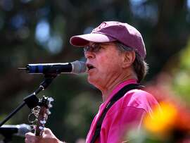 Country Joe McDonald, shown here at the 40th anniversary Summer of Love concert in 2007, will be giving a free  concert at Todos Santos Plaza, Willow Pass road at Grant St., in Concord on Tuesday, July 1st.