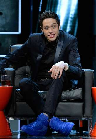 "Pete Davidson of ""Saturday Night Live"" at Comedy Central's Justin Bieber roast. Photo: Getty Images"