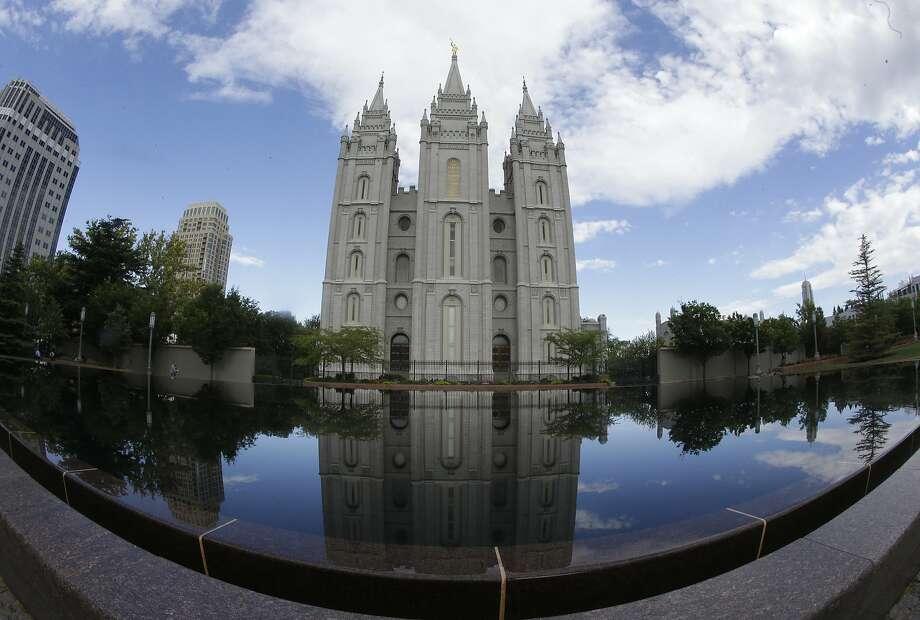 This 2015 photo shows the Salt Lake Temple at Temple Square in Salt Lake City. (AP Photo/Rick Bowmer) Photo: Rick Bowmer, Associated Press