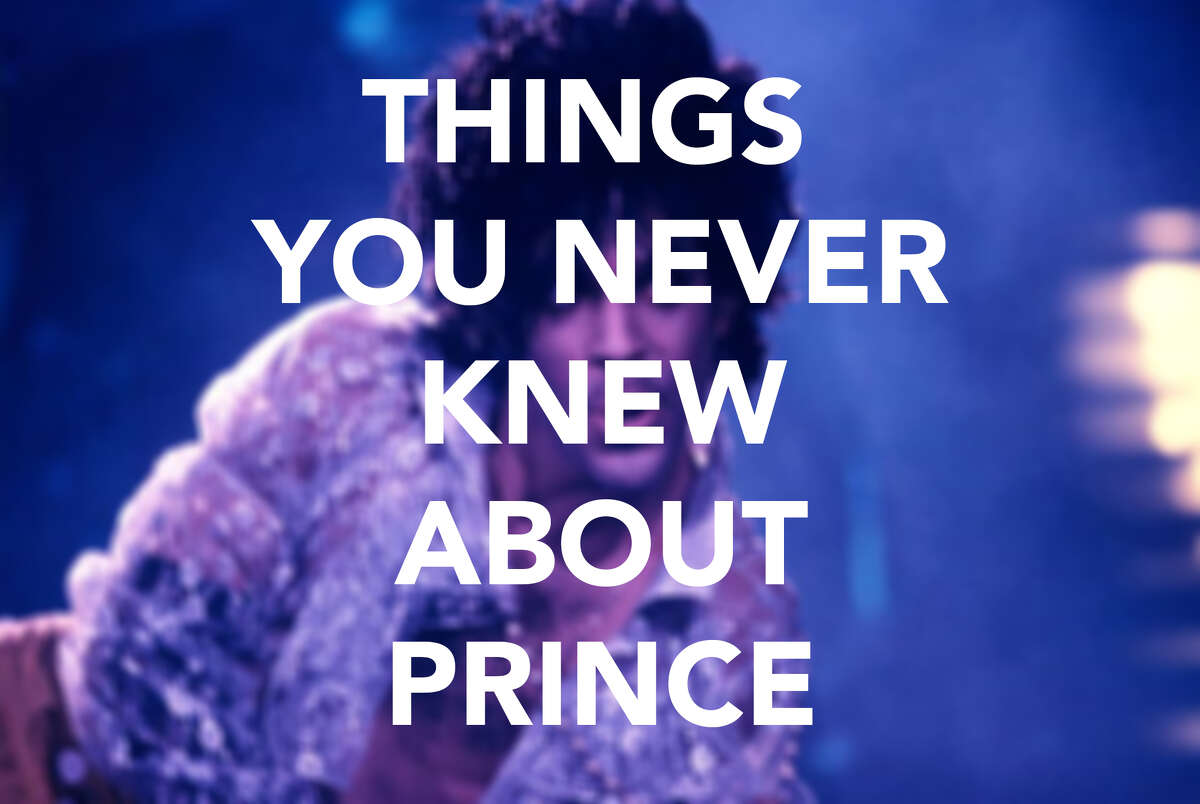 Here are some facts about The Purple One, Prince. You may be surprised by some of the tidbits.