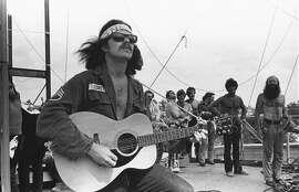 Country Joe McDonald at Woodstock