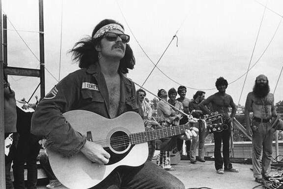 Country Joe McDonald at Woodstock