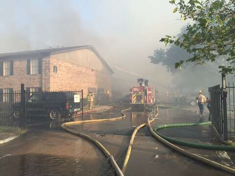 P A Major Fire Broke Out At The Gentry House Apartments On Kempwood