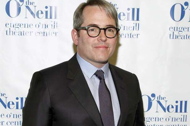 """FILE - In this April 13, 2015 file photo, Matthew Broderick attends the 15th Annual Monte Cristo Awards in New York. Broderick has joined the upcoming cast of A.R. Gurney's """"Sylvia"""" on Broadway. Performances begin Oct. 2 at the Court Theatre. (Photo by Andy Kropa/Invision/AP, File) ORG XMIT: NYET227"""