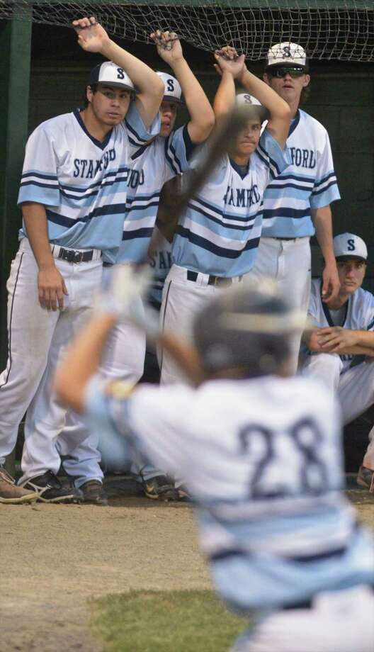 Sr. Legion Southeast Division Legion championship baseball game between Waterbury and Stamford at Palmer Field, in Middletown, Conn, on Tuesday, July 28, 2015. Photo: H John Voorhees III / Hearst Connecticut Media / The News-Times