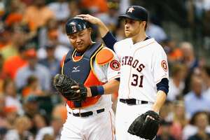 Astros take it to Angels, rally to claim opener of key three-game AL West series - Photo