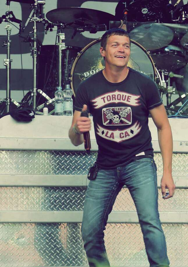 Brad Arnold, lead singer of 3 Doors Down, will perform with his band at Mohegan Sun on Thursday, July 30. Photo: Contributed Photo