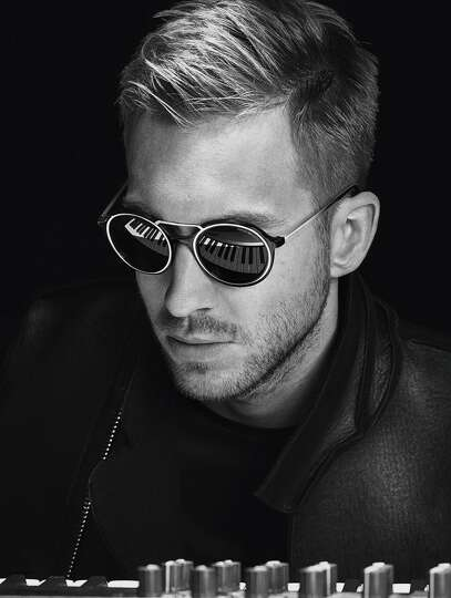Calvin Harris models Emporio Armani eyewear. Harris, 31 ...