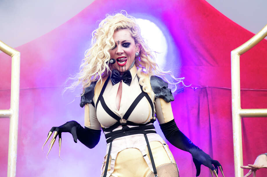 Maria Brink from In This Moment. She's a Schenectady native. Keep clicking for more concerts coming soon. Photo: Trudi Shaffer / Times Union