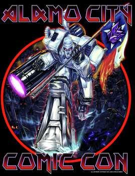 Alamo City Comic Con poster by San Antonio artist Juan Carlos Ramos. Photo: Juan Carlos Ramos / Juan Carlos Ramos