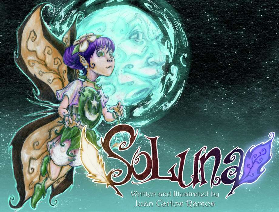 "Cover to ""SoLuna,"" a forthcoming children's rhyming book, written and illustrated by San Antonio artist Juan Carlos Ramos. Photo: Juan Carlos Ramos / Juan Carlos Ramos"