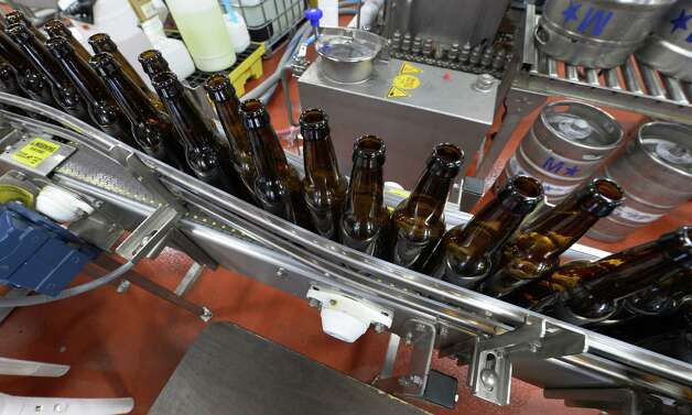 Hi tech brewing equipment at the Shmaltz Brewing Company July, 24, 2013 in Clifton Park, N.Y.   (Skip Dickstein/Times Union) ORG XMIT: MER2013072415443741 Photo: SKIP DICKSTEIN / 00023283A