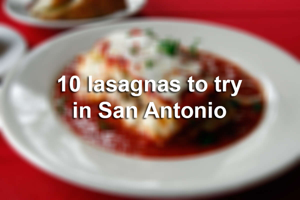 It's National Lasagna Day! Even though San Antonio is a Tex-Mex town, we've rounded up 10 restaurants in the Alamo City area where you should try the famed Italian dish (and even a couple where you can try the restaurant's beloved recipes at home, if you like).