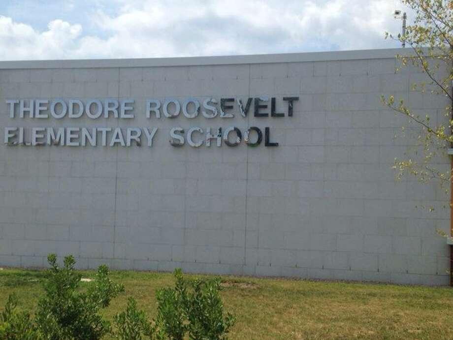 The new Theodore Roosevelt School in Bridgeport Photo: Linda Conner Lambeck / Linda Conner Lambeck / Connecticut Post