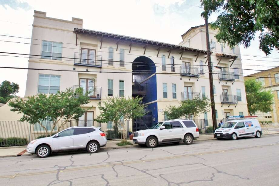Property: Two-level condo in The Andalusia in downtown San Antonio