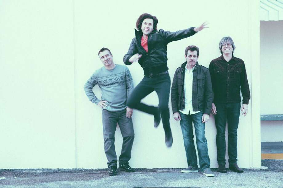 Rock band Old 97s from left: Ken Bethea, Rhett Miller, Philip Peeples, Murry Hammond Photo: Eric Ryan Anderson