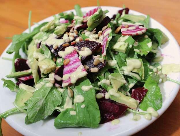 Beet salad at Comfort Kitchen on Thursday, July 23, 2015 in Saratoga Springs, N.Y. (Lori Van Buren / Times Union) Photo: Lori Van Buren / 00032706A