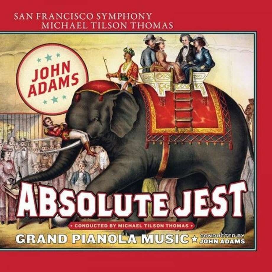 "CD cover: Adams, ""Absolute Jest"" Photo: SFS Media"