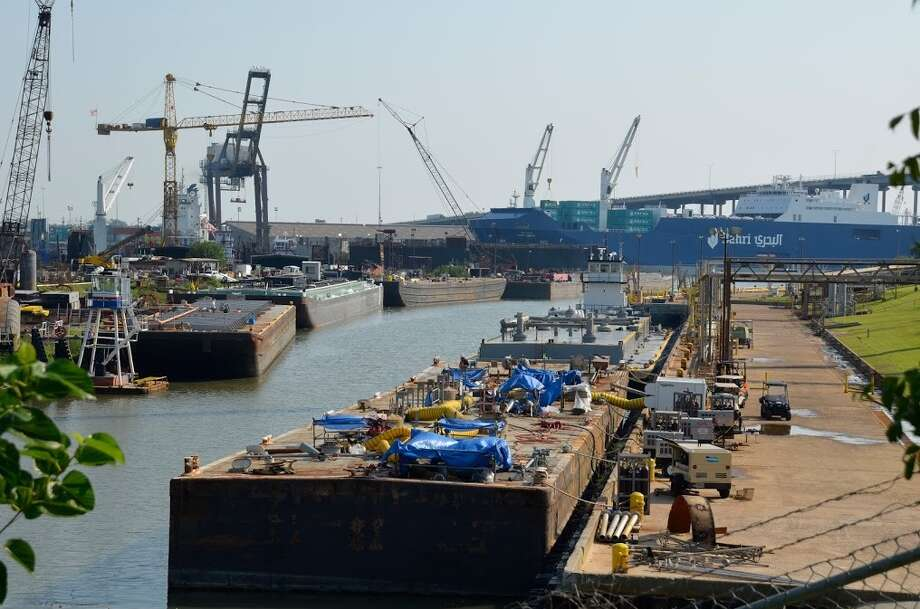 The Port of Houston says it is on track to see a record level of cargo this year. / handout