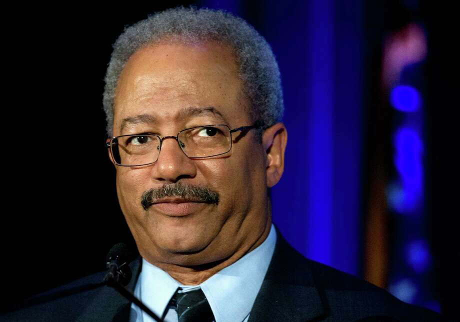In this May 7, 2015 photo, Rep. Chaka Fattah, D-Pa., speaks during a My Brother's Keeper town hall at the School of the Future in Philadelphia. Fattah, an 11-term Democrat from Philadelphia, was indicted Wednesday, July 29, 2015, on charges that he misappropriated hundreds of thousands of dollars of federal, charitable and campaign funds. (AP Photo/Matt Rourke) Photo: Matt Rourke, STF / AP